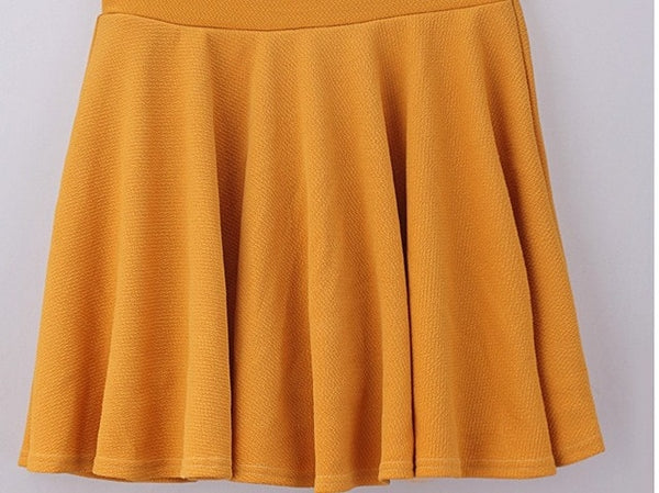 Hot Women Bust Shorts Skirt Pants Pleated Plus Size Fashion Candy Color Skirts 9 Colors C718