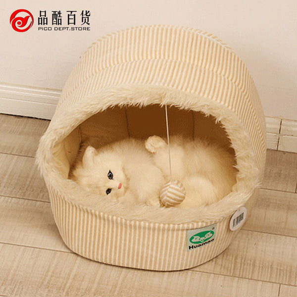 new hot sale autumn winter teddy pet small dogs house cat bag kennel&pens dog bed tent PT127
