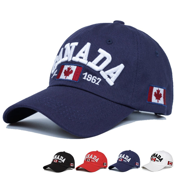 Cotton Gorras Canada Baseball Cap Flag Of Canada Hat Snapback Adjustable Mens Baseball Caps Brand Snapback Hat