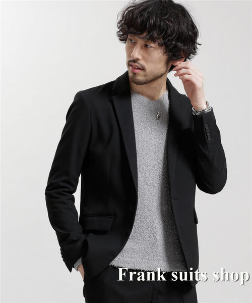 Elegant Groom's Wear Black Peaked lapel Lapel Tuxedo/Wedding Suits Best man's 2 Peices Suits (Jacket+pants)