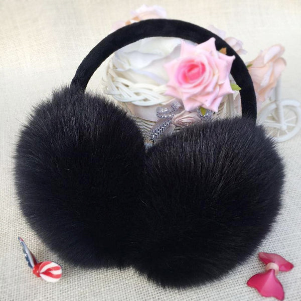 New Winter Earmuffs Warmth Plush Warm Ears Ear Muff  Men's and Women's Outdoor Ear Bag Imitation Rabbit Hair Cute Ear Muffs
