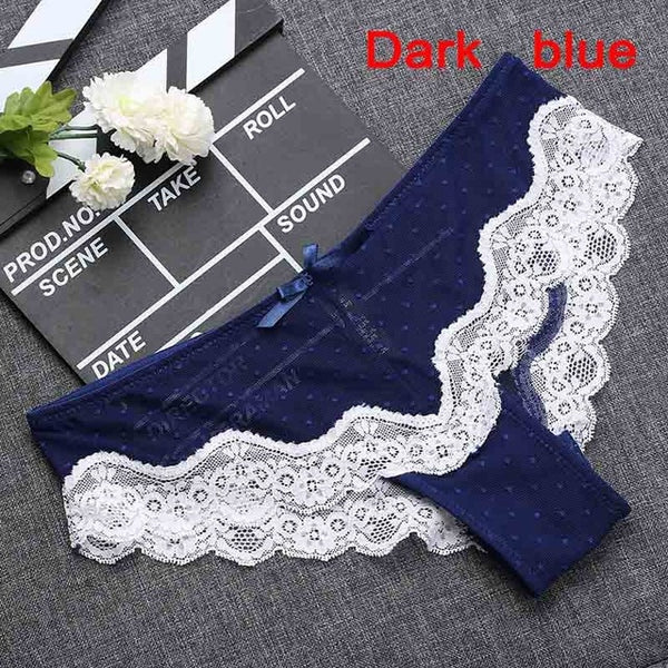 Sexy Lace Women Panties Fashion Underpants Tempting Pretty Briefs Cotton Low Waist Cute Women Underwear Hipster Lingrie