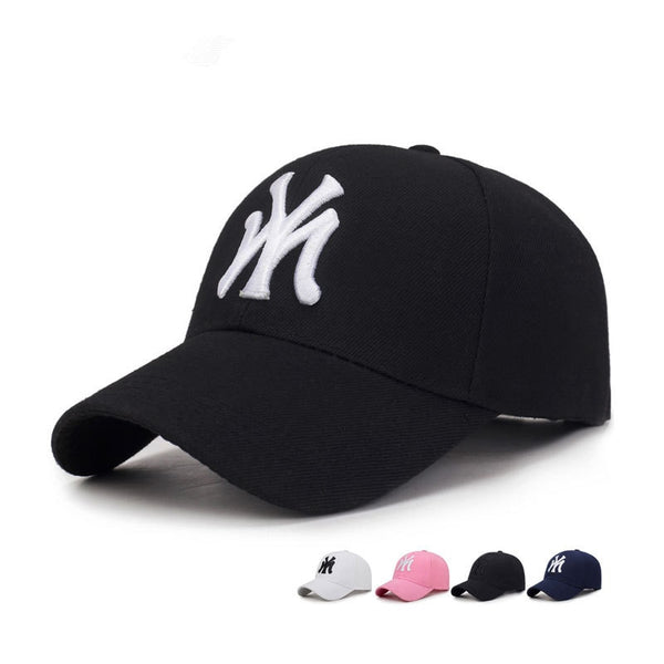 new MY Three-dimensional embroidery dad hat men summer fashion baseball cap wild spring autumn visor caps Adjustable hats