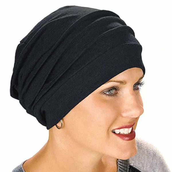 New Elastic Cotton Turban Hat Solid Color Women Warm Winter Headscarf Bonnet Inner Hijabs Cap Muslim Hijab femme Wrap Head