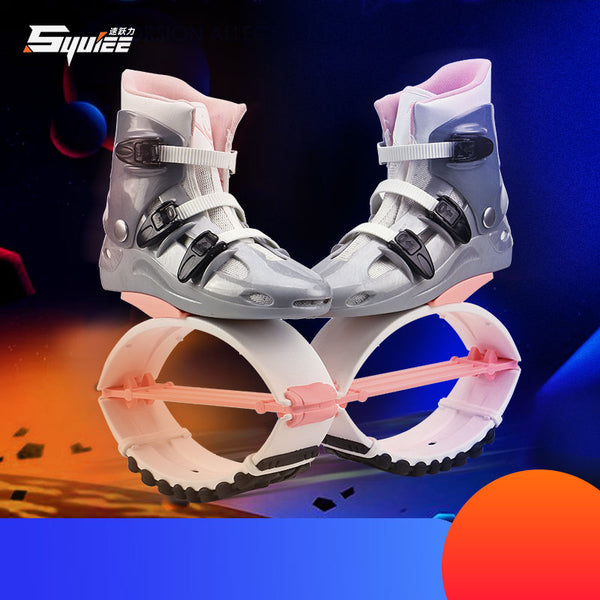 New Kangaroo Jumping Shoes Slimming Shoes Bouncing Sport Fitness Shoes Saltar Toning Shoes Wedge Sneaker Women Men Jump