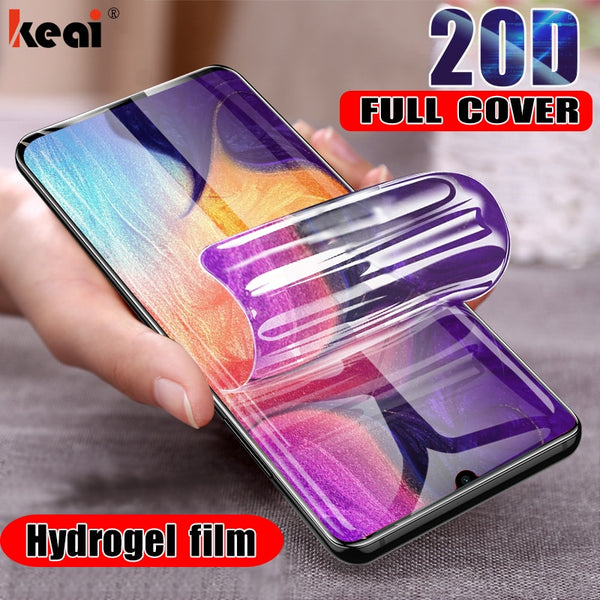 20D Hydrogel Film For Samsung Galaxy S10e S10 Plus Screen Protector For A50 A51 A20 A20E A70 A71 A40 A10 Note 10 Film Not Glass
