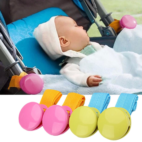 2pcs Baby Stroller Anti Tipi Clip Anti-slip Blanket Clip Fasteners Grippers Suspenders Sheet Holder Stroller Car Seat Accessory