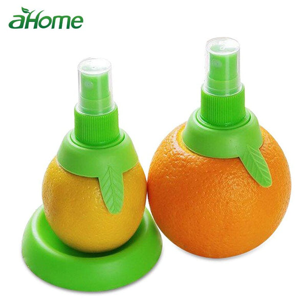 2pcs/Set Lemon Sprayer kitchen Gadgets Orange Juice Citrus Spray Manual Fruit Juicer Lemon Squeezer Kitchen Tools