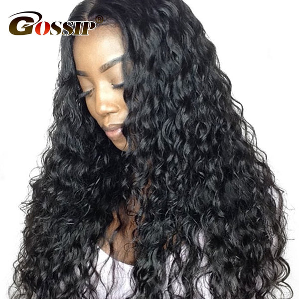 360 Lace Frontal Wig Water Wave Lace Front Human Hair Wigs For Black Women 6 Inch Lace Front Wig Pre Plucked With Baby Hair Remy