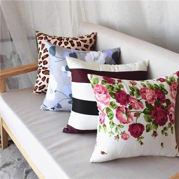 40*40cm Family Cushion Cover Soft Plush Pillow Case Home Room Office Decoration Back Throw Sofa Cushion Cover almofadas
