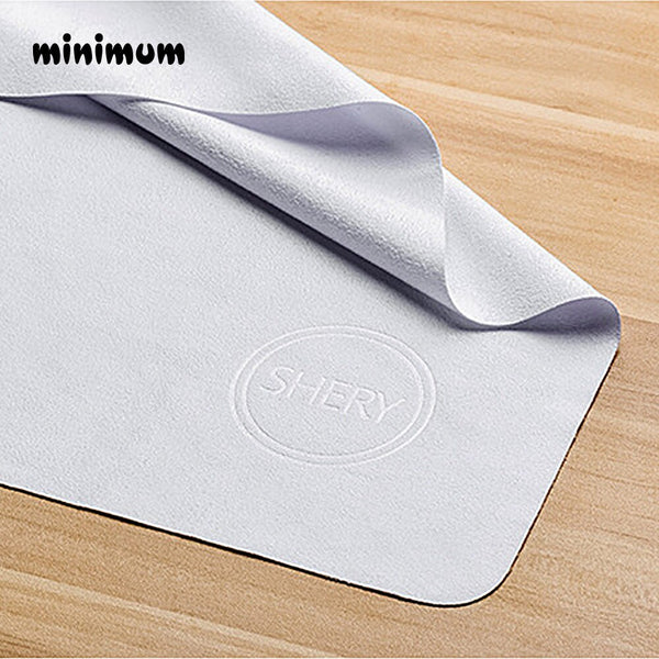 Cotton Phone Screen Camera Lens Glasses Cleaner Cleaning Cloth Dust Remover With Cozime Pattern Silky Solid Soft Lens Clothes