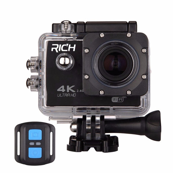 60 F60R 4K Wifi Action Camera 16MP 170D Sport DV 30M Go Waterproof Pro Extreme Sports Video Bike Helmet Car Cam Dvr