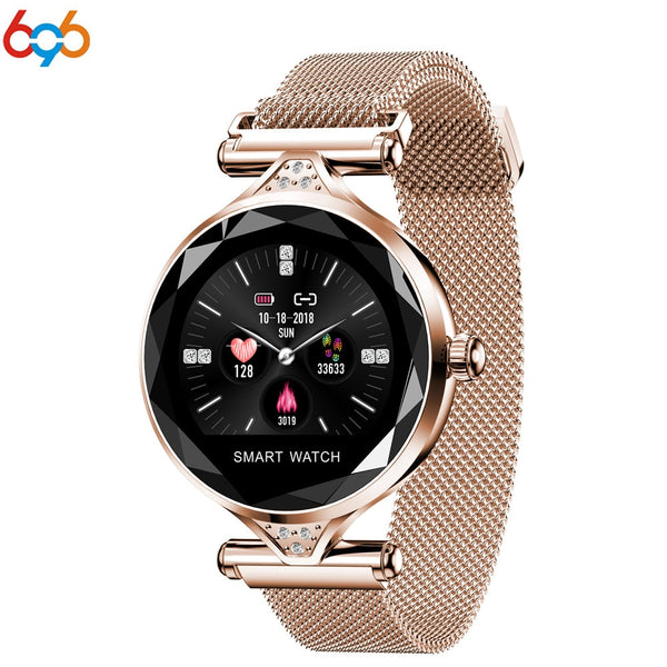 696H1 Smart Watch women Heart Rate Blood Pressure Fitness Tracker Smartwatch Female physiological Cycle Lady Smart Bracelet Band