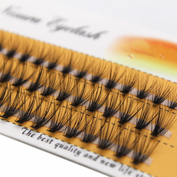 8/9/10/11/12/14mm Natural Soft False Eyelash Extension Deluxe Lashes VOLUME Flase Eyelashes Fans 3d Eyelashes