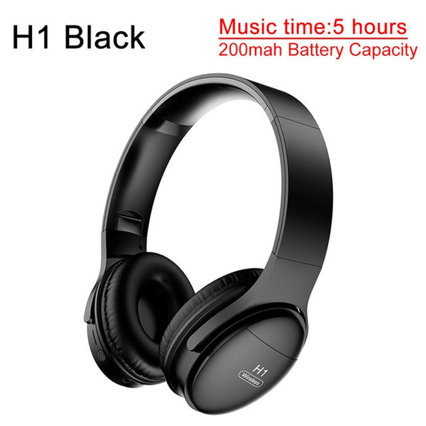 Awi H1 Bluetooth Headphones Wireless Headset Stereo Over Ear Noise Can Kopaland