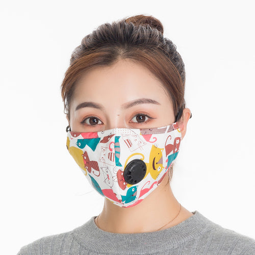 Adult Pure Cotton Breathable Autumn & Winter Warm Windproof BOY'S Girls Baby Kids Men And Women Mask