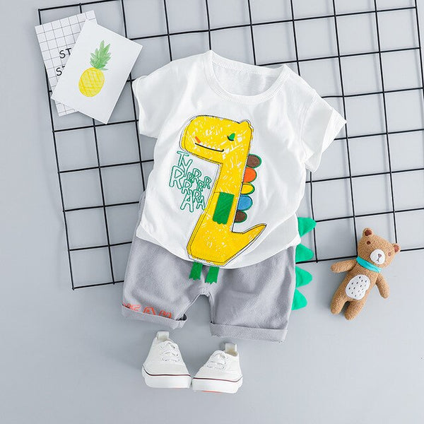 Baby Boy Clothes Summer Baby Set For 1-3years New Fashion Cotton Boys Clothing Set Children Sets High Quality Boys Clothes