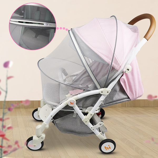 Baby Stroller Mosquito Insect Net Accessories Safe Mesh Buggy Crib Netting Cart Mosquito Net Pushchair Full Cover Netting