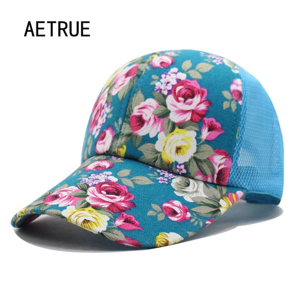 Baseball Cap Women Snapback Caps Hats For Women Girls Casquette Brand Mesh Cap Bone Gorras Floral Lady Fashion Sun Hat Caps