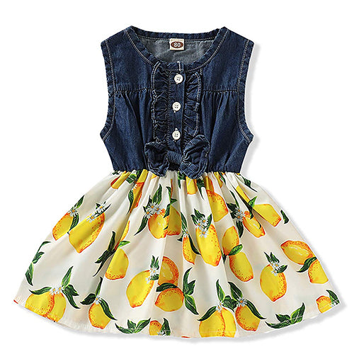Belababy Baby Girl Dress Summer New Flower Girls Dresses Kids Brand Princess Dress For Girl Child Clothes 2-9y Dropshipping
