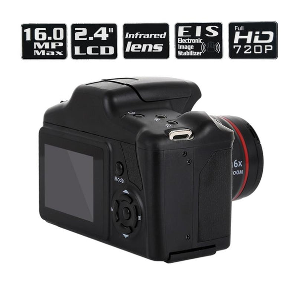 Best Price Portable Digital Camera Camcorder Full HD 1080P Video Camera 16X Zoom AV Interface 16 Megapixel CMOS Sensor Hot Sale