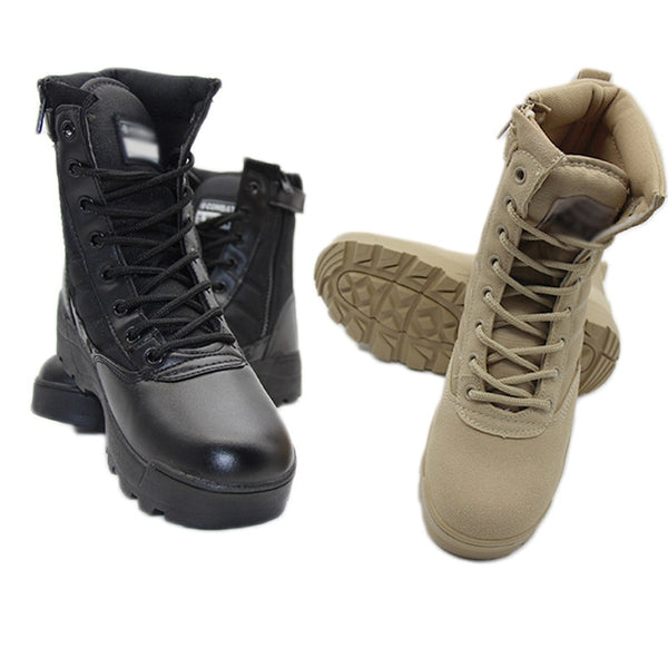 Black Desert Camouflage Military Tactical Boots Men Outdoor Combat Army Boots Botas Militares Sapatos Masculino