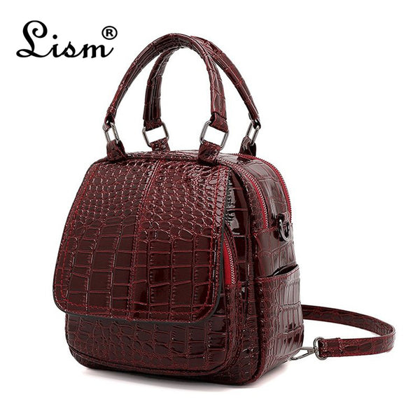 Brand luxury crocodile pattern package  new ladies multi-function bag shoulder Messenger bag fashion mini