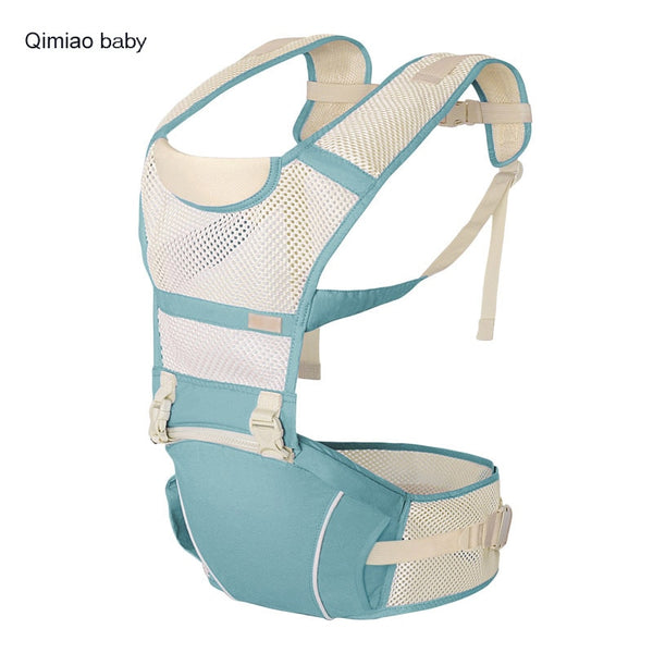 Breathable Ergonomic Baby Carrier Mesh Strap Lightweight Portable Sling Baby Hipseat 0-36 Month Infant Baby Kangaroo Backpack