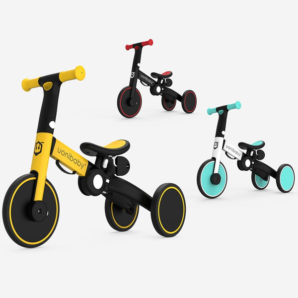 Children Bicycle Tricycle Child Bike Foldable Baby Balance Bicycle 5-in-1 Children's Scooter Kids Walker for 1-6 Years Old