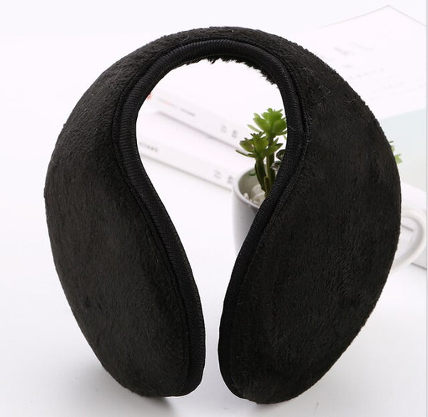 Cotton Earmuffs Soft Thicken HeadBand Plush Ear Cover Muff  Protector Earflap for Men Women Girls  Ear Winter Warmer