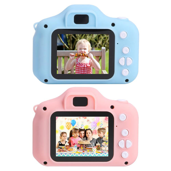 Cute Gift Children's Camera HD Screen Camera Waterproof 1080P HD Screen Toy Video Toy Kids Cartoon Camera Outdoor Photography