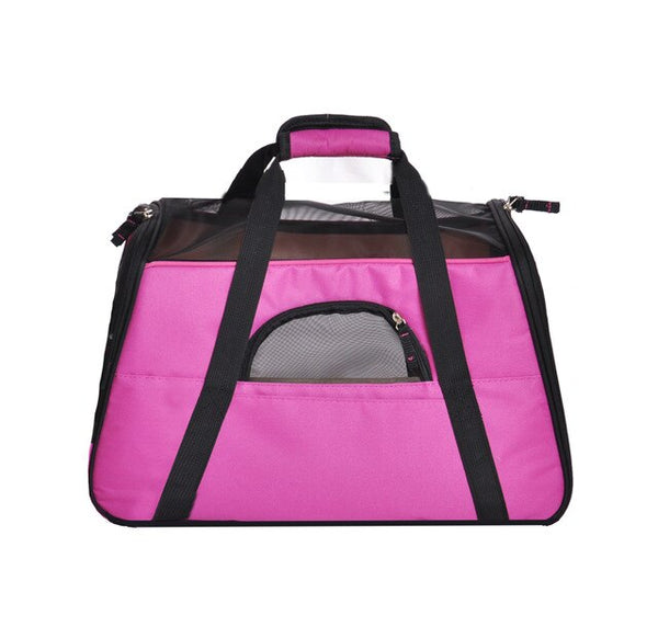 Dog Carrier Travel Bag Portable Pet Backpack Messenger Cat Carrier Outgoing Small Dog Soft Sided Breathable Pet Carrier For Cat