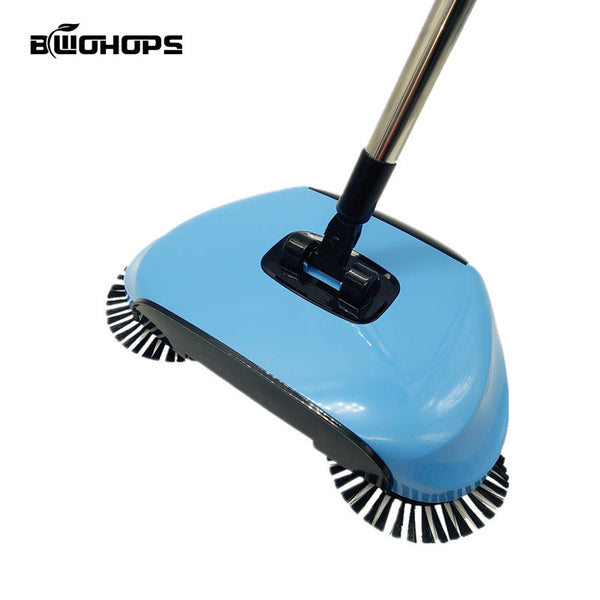 Double Sided Flat Magic Mop & Hand Push Sweepers Broom Telescopic Mops Hard Floor Cleaner Lazy Vassoura Home Cleaning Mops