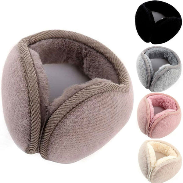 Ear Earmuffs Muffs Ear Warmer HeadBand Adjustable Ladies Men Girls Boys Winter Rabbit Fur earmuffs  Fleece Ear Warmer Womens