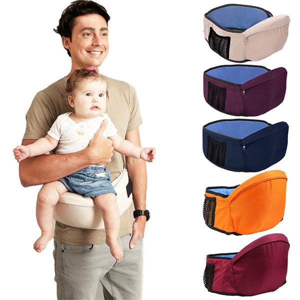 Ergonomic Baby Carrier Baby Toddler Waist Walker Hip Seat Adjustable Baby In Front Holder Wrap Strap Support Hip Safty Belt