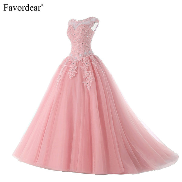 Favordear Quinceanera Beading Sweet 16 Dress Vestidos De 15 Anos Cap Sleeve Grey Burgundy Quinceanera Gowns Party Dress