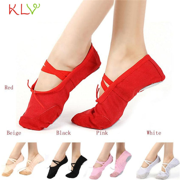 FishSunDay Adult girls Canvas Ballet Dance Shoes multicolor Comfortable to wear beautiful softable Dropping Drop shipping Aug14