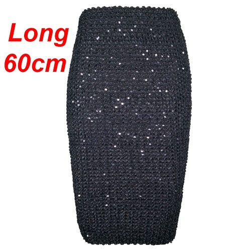 Flectit Womens Skirts Gold Sequined Mini Skirt Bodycon Pencil Skirt Short Wrap Skirt for Office Lady Party Girl Saia