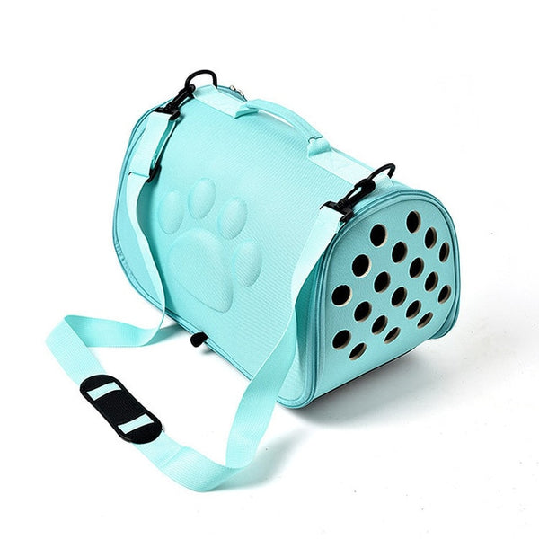 For dogs cat Folding Pet Carrier Cage Collapsible Puppy Crate Handbag Carrying Bags Pets Supplies Transport Chien Accessories