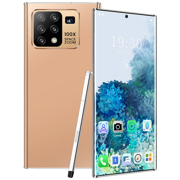Galxy N25+ Smartphone 8-core 128/256 GB FullScreen Android 10.0 Face ID Dual Camera 4G Smart Mobile Cell Phone Global Version