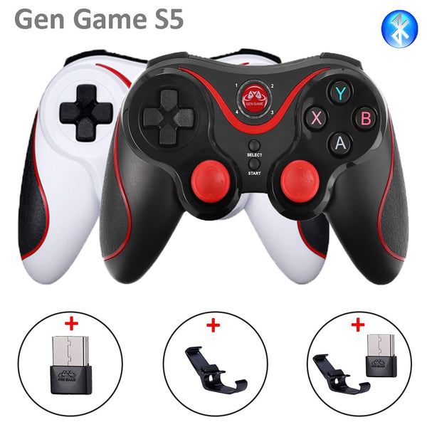 GenGame S5 Smart Phone Game Controller Wireless Joystick Bluetooth 3.0 Android Gamepad Gaming Remote Control for phone PC Tablet