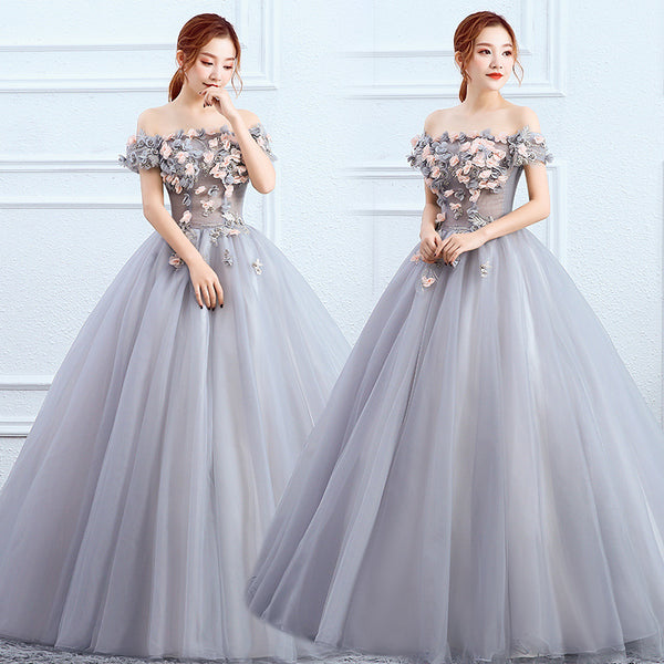 Gryffon Quinceanera Dress Prom Dress Elegant Off The Shoulder Ball Gown Vintage Lace Quinceanera Dresses Party Solo Dresses
