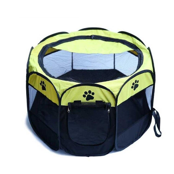 High Quality Summer Cat Delivery Room Waterproof Pet Playpen Exercise Pen Cat Kennels Portable Folding Large Space Tent Dog Bed