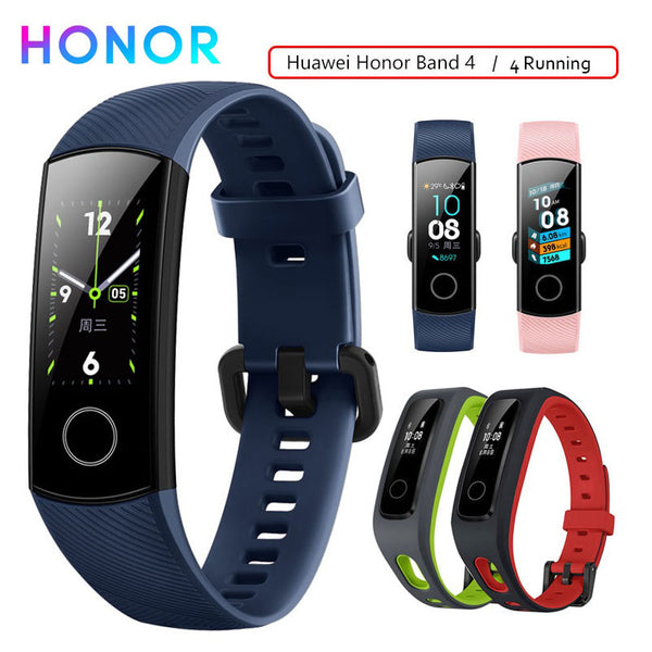 Honor Band 4 Smart Wristband Fitness Bracelet Tracker Waterproof Real-time Activity Tracker Wearable Devices Sleep Snap