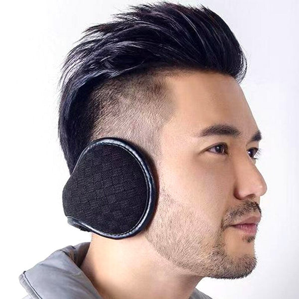 Hot  Warm Earmuffs Men Women Classic Knitted Earmuff Adjustable Winter Sport Cycling Riding Ear Protection Accessories