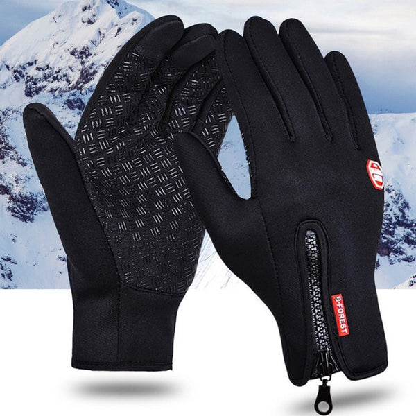 Hot winter Touch Screen Windproof Outdoor Sport Gloves For Men Women army guantes tacticos luva windstopper waterproof gloves