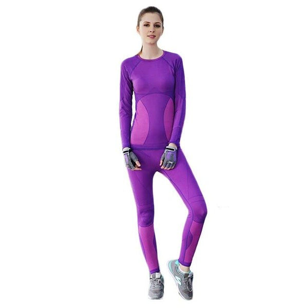 New Winter Thermal Underwear Sets Women Brand Anti-microbial Stretch Women's Thermo Underwear Female Warm Long Johns