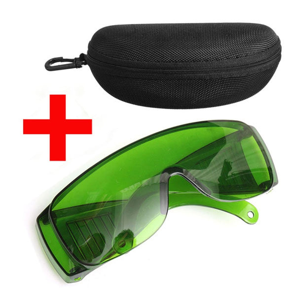 IPL Green 340-1250NM Laser Light Protection Safety Glasses Goggles OD+4 With Box Workplace Safety