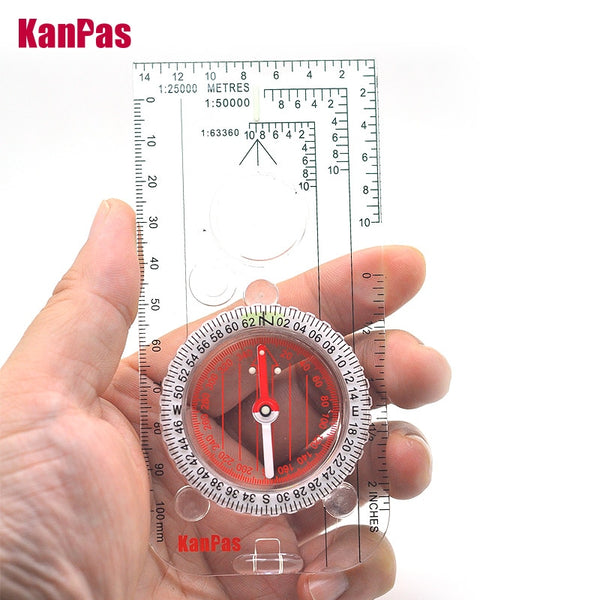 KANPAS military compass /outdoors navigation compass for hiking/map drawing compass/School compass /MA-40-3s