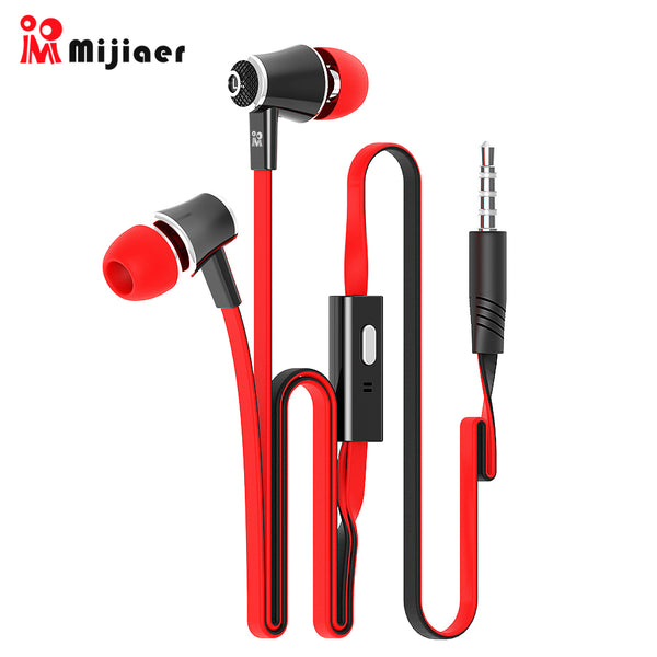 Langsdom Mijiaer JM21 In ear Earphones For Phone iPhone Huawei Xiaomi Headsets Wired Earphone Earbuds Earpiece fone de ouvido